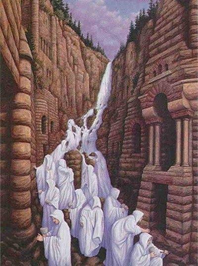 Cascade humaine